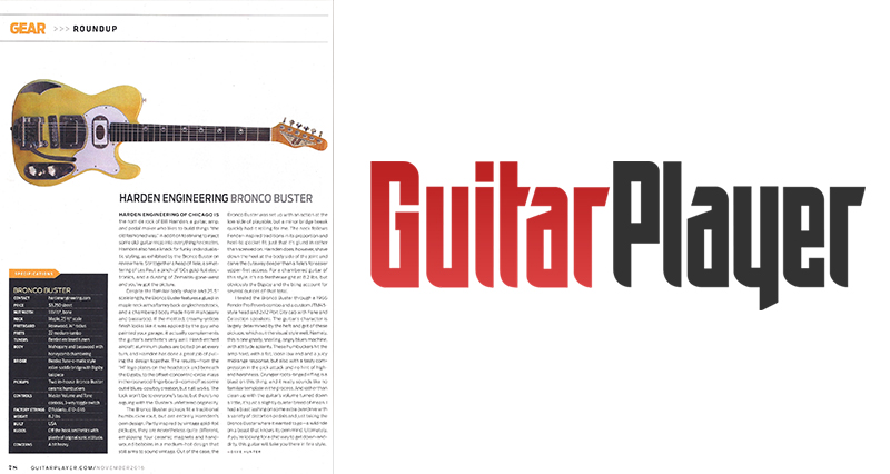Page From Guitar Player Magazine